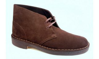 Clarks Originals ankle boots DESERT BOOT brown suede women
