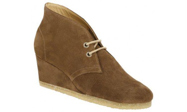 Clarks Originals YARRA DESERT brown suede ankle boot for women