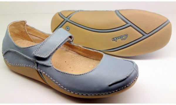 Clarks pumps FABULUOS FLEX light blue leather