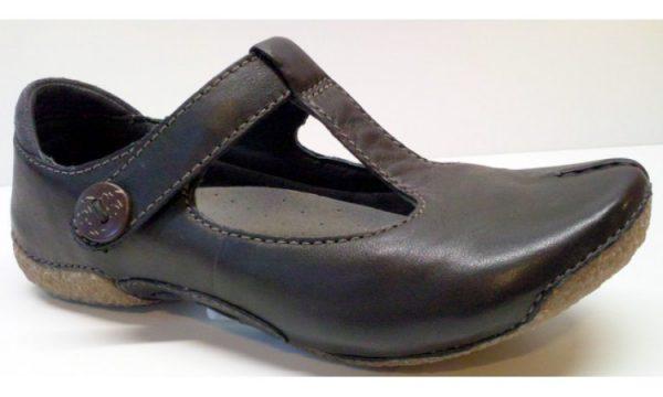 Clarks flat slip-on FUNKY ROCK black leather