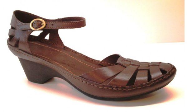 Clarks sandal GRANOLA CRISP ebony leather