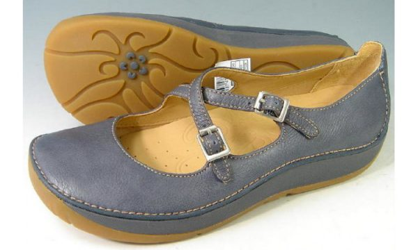 Clarks flats HORSE WHISPER navy leather