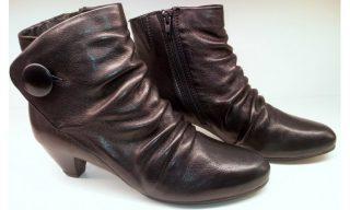 ks ankle boots LITMUS TEST black leather