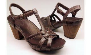 Clarks sandal PAWPAW FRUIT ebony leather