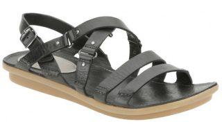 Clarks sandal POWDER PUFF black leather