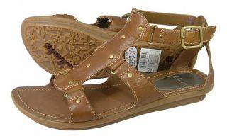 Clarks sandal POWDER SHAKER stone tan leather