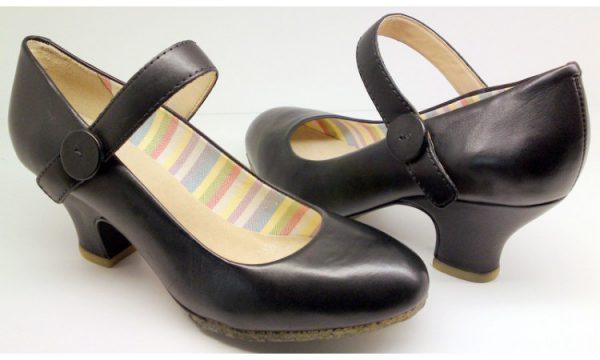 Clarks Originals pumps RIPPLE WAVE black leather
