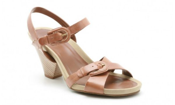 Clarks sandal STAR SPICE tan leather