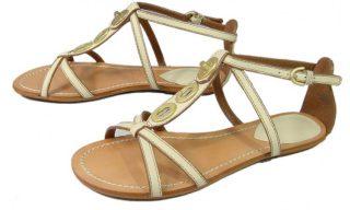 Clarks sandal TEST MARK white leather