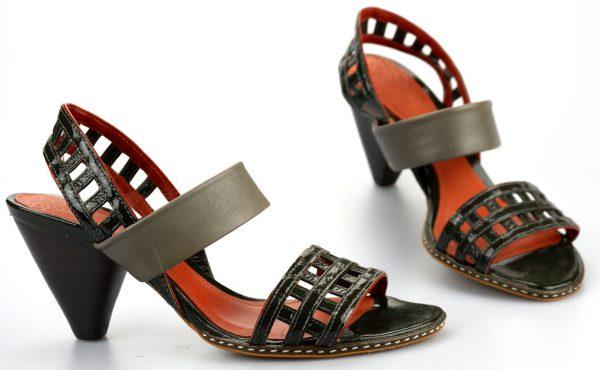 Clarks sandal SWISS CHALET grey leather