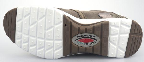 Gabor rollingsoft sensitive 26.975.31 fumo grey nubuck and mesh combi