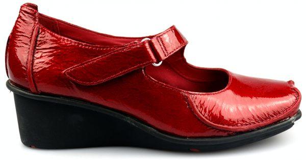 Clarks wedges pumps FINNIS BLAZE claret patent leather