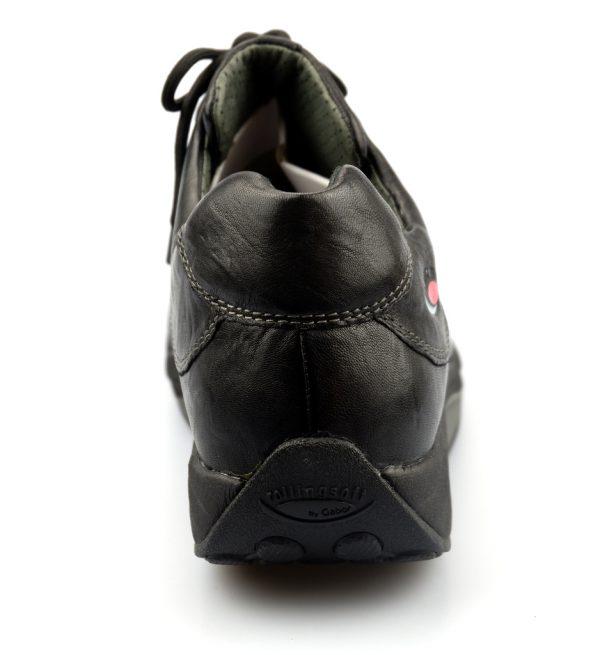 Gabor rollingsoft 46.920.17 black nubuck leather