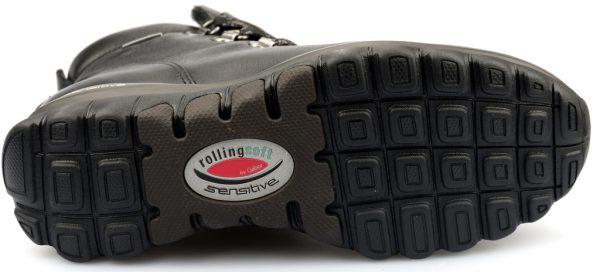 Gabor rollingsoft sensitive 96.955.27 black leather    WATERPROOF GORE-TEX