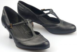Clarks pumps APPLE SNOW black leather