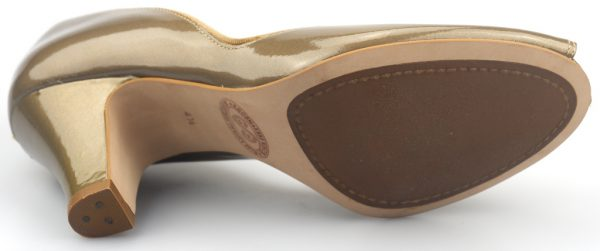 Clarks pumps COCONUT ICE bronze metallic leather