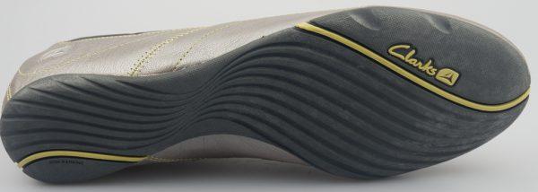 Clarks slip-on IDYLLIC SLIP silver leather