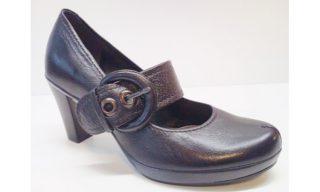 Clarks pumps CUBIN HEEL black leather