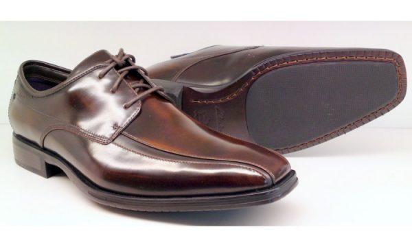 Clarks DECO BOSS ebony leather