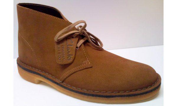 Clarks Originals ankle boots DESERT BOOT cola suede