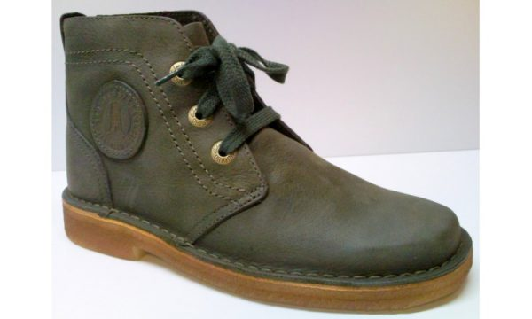 Clarks Originals ankle boots DESERT LYNX dark green leather