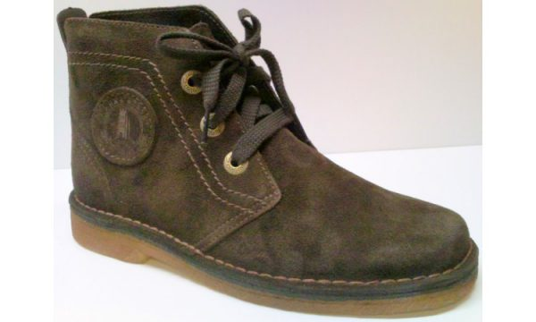 Clarks Originals ankle boots DESERT LYNX ebony suede