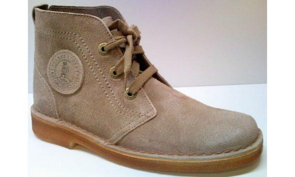 Clarks Originals ankle boots DESERT LYNX wolf beige suede