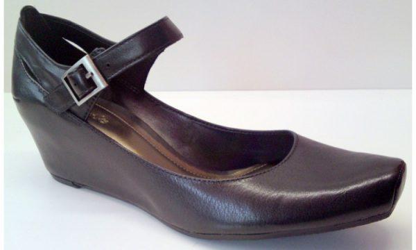 Clarks wedges pumps DOCK YARD black leather