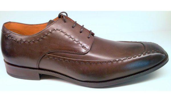 Clarks FAIR CAFE ebony leather
