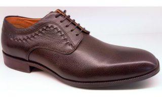 Clarks FAIR LATTE ebony tumbled leather