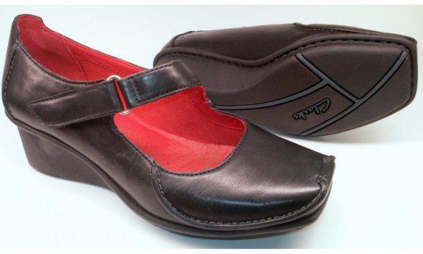 Clarks wedges pumps FINNIS BLAZE black leather