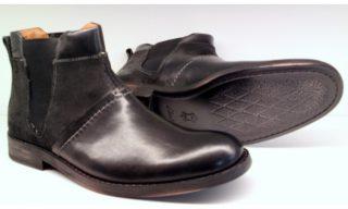 Clarks GETIT BOOT black leather chelsea men's boot