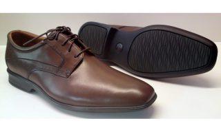 Clarks GOYA ROW walnut brown leather