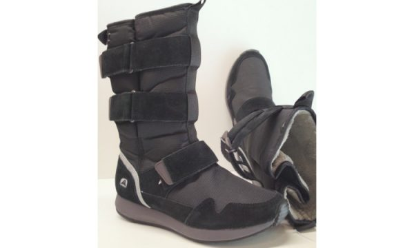 Clarks snowboots JINKS HI black suede and textile lined