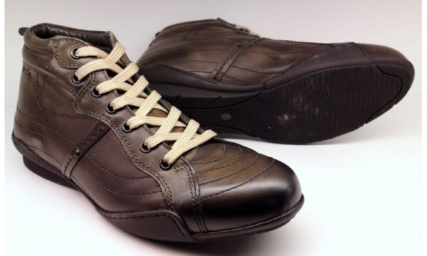 Clarks ankle boots MAP TIME slate leather