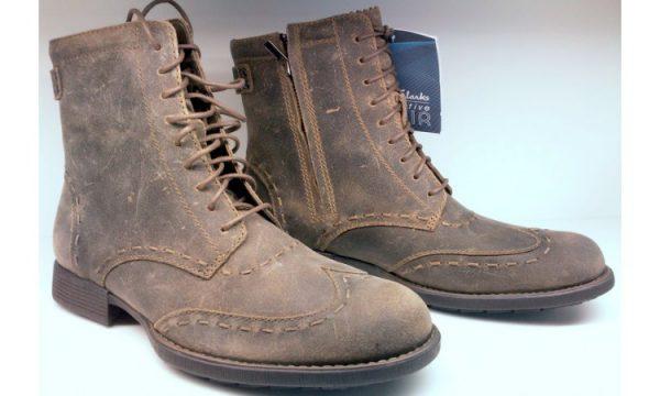 Clarks ankle boots MARDI MYTH tobacco nubuck