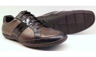 Clarks MOB RACER black combi leather