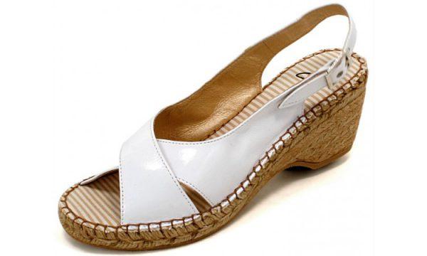 Clarks wedges sandal PICKET HEDGE white