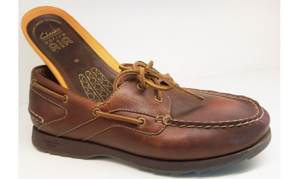 Clarks RIVER SAIL tan leather