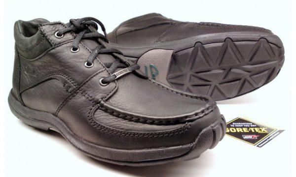 Clarks ankle boots SPY HI GTX black leather       GORETEX waterproof