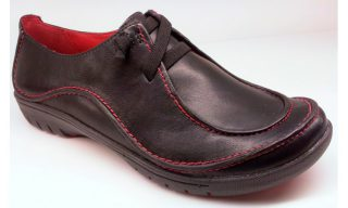 Clarks UNSTRUCTURED flat slip-on UN HOUSE black leather
