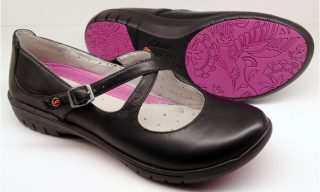 Clarks UNSTRUCTURED flat slip-on UN LADY black leather