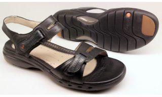 Clarks UNSTRUCTURED sandal UN SAILOR black leather