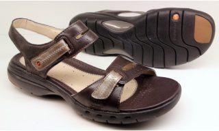 Clarks UNSTRUCTURED sandal UN SAILOR ebony leather
