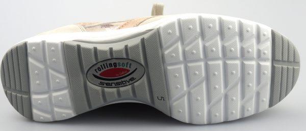 Gabor rollingsoft sensitive 46.973.63 beige off white nubuck leather