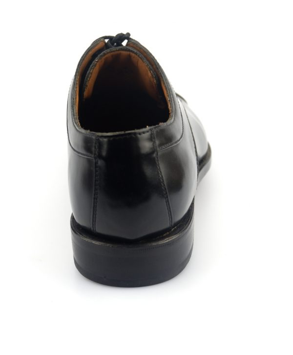 Clarks DIXON WORK GOODYEAR WELTED black shine leather