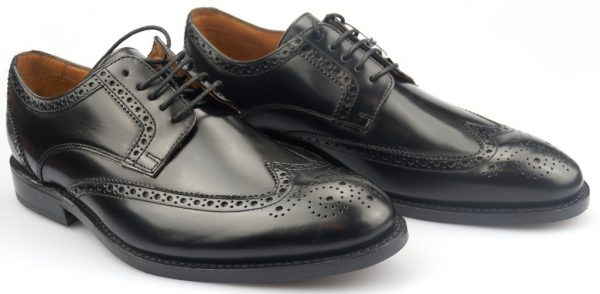 Clarks DIXON CLASS GOODYEAR WELTED black hishine leather