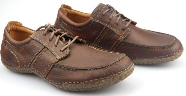 Clarks RIOT LAND chestnut leather