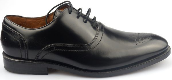Clarks DIXON CRAFT GOODYEAR WELTED black shine leather