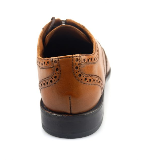 Clarks DIXON CLASS GOODYEAR WELTED tan leather